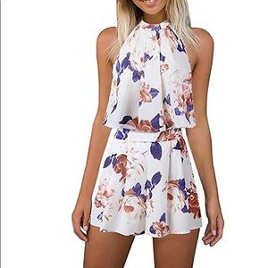 Other - Floral printed two piece set